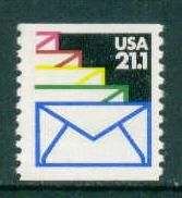 2150 21.1c Envelopes Fine MNH