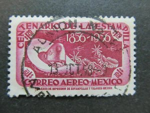 A4P44F114 Mexico Air Post Stamp 1956 50c used