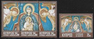 Cyprus MH 349-50 Religious