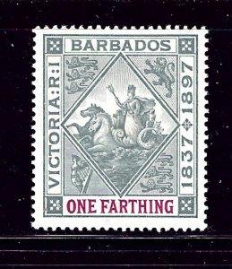 Barbados 81 MHR 1897 issue