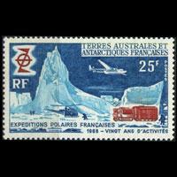 FR.S.& ANTARCT 1969 - Scott# 33 Expedition Set of 1 NH