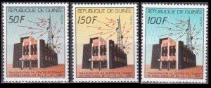 1988 Guinea 1240-1242 Station News 3,00 €