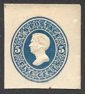 Doyle's_Stamps: Mint 1875 Scott #U174* Cut Square
