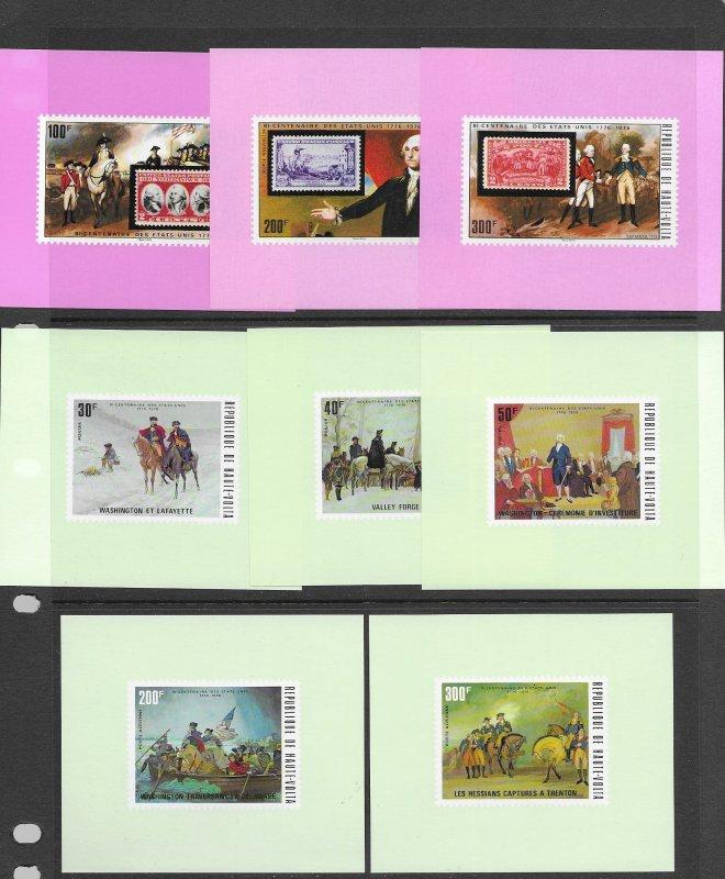Burkina Faso 332-C91,352-7,365-C210 MNH Deluxe/Proof. see desc. 2020 CV$44.45++