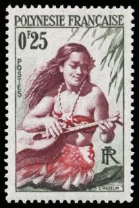 French Polynesia - Scott 183 - Mint-Never-Hinged