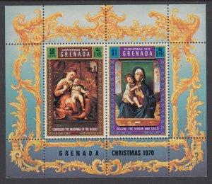 Grenada 394a Christmas Souvenir Sheet MNH VF