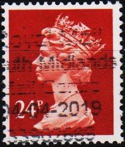 Great Britain. 1989  24p S.G.X968 Fine Used
