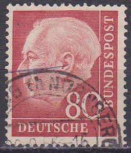 Germany #717 F-VF Used CV $4.50 (ST1108)