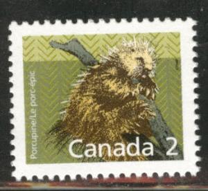 Canada Scott 1156 MNH** 2c Porcupine