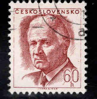 Czechoslovakia Scott 1541 Used CTO 1968 stamp