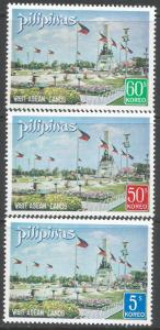 PHILIPPINES 1123-25 MNH P1135-2