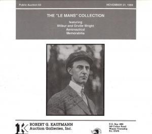 Kaufmann: Sale # 63  -  The Le Mans Collection featurin...