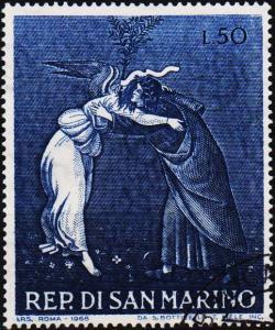 San Marino.1968 50L S.G.853 Fine Used