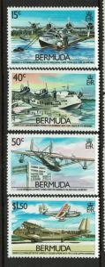 Bermuda SC# 524-527, Mint Never Hinged - S5174