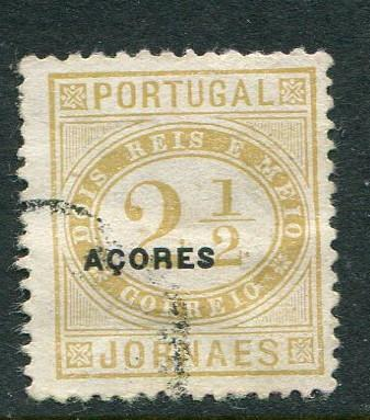 Azores #P4 used