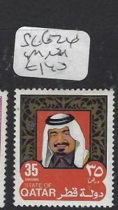 QATAR  (P0304BB)  SHEIKH  35 DH   SG 626    MNH