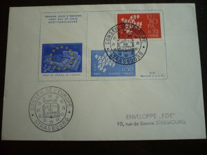 Europa 1961 - France - Set - First Day Cover