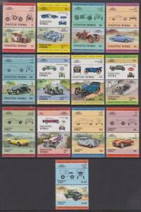 Tuvalu Nukufetau 1984-85 Cars 1-13 MNH