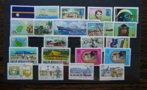 Nauru 1969 1975 Independence Discovery Phosphate Commission Pacific Xmas MNH