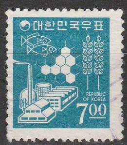 Korea #522  F-VF Used  (S4583)