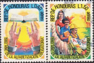Honduras #C726-C727 Used Set