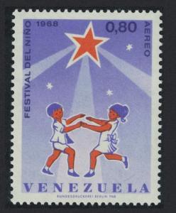 Venezuela Dance Children's Festival 1968 MNH SC#C988 SG#2046