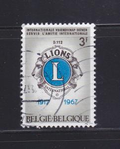 Belgium 679 U Lions International