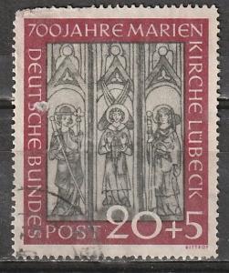 B317 1Germany Semi-Postal Used