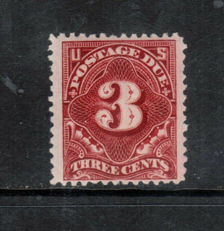 USA #J33 Mint Fine - Very Fine Never Hinged