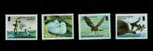 British Antarctic Territory: 2005, Birdlife International, Petrels, MNH set
