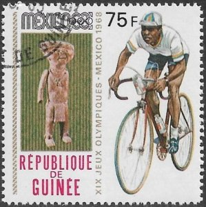 Guinea 1968 Scott # 528 NH CTO. Free Shipping for All Additional Items