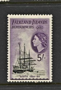 STAMP STATION PERTH -Falkland Is.Dep.#1L31 Definitive MNH OG VF - CV$40.00
