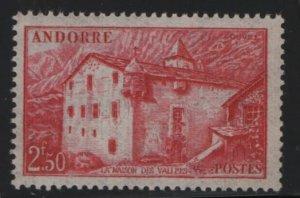 ANDORRA, 90, MNH, 1944-47, LA MAISON DES VALLEES