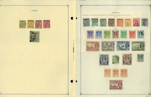Burma 1937-2000 MNH, LH & Used Hinged & in Mounts on Scott International Pages