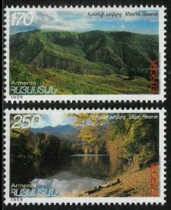 Armenia #589-90 MNH Set - Europa - Reserves