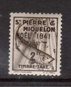 St Pierre & Miquelon #J56 VF Mint