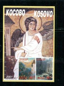 Kosovo  2001  Europa mini sheet   Mint VF NH