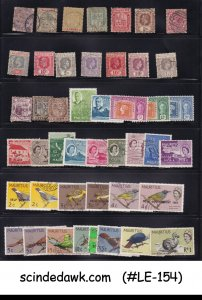 MAURITIUS - SELECTED STAMPS FROM CLASSIC TO MODERN 45V -USED