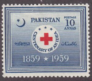 Pakistan 105 International Red Cross 1959