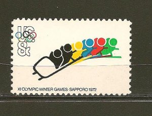 USA 1461 Olympics Bobsledding MNH