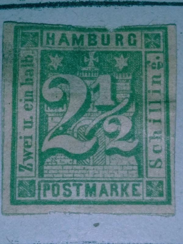 Hamburg #9 MH XF/Sup