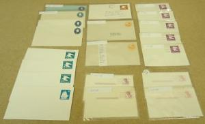 Collection of USA Stamp Envelopes 21qty