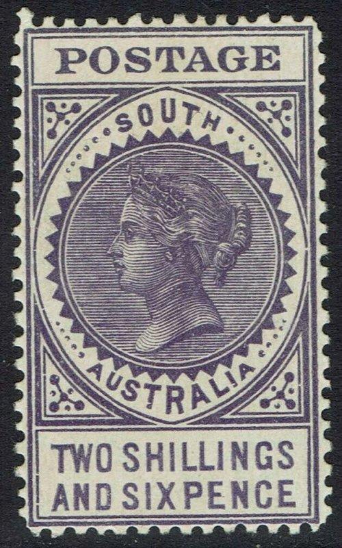 SOUTH AUSTRALIA 1904 QV THICK POSTAGE 2/6 WMK CROWN/SA