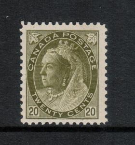 Canada #84 Very Fine Never Hinged **With Certificate**