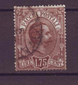 J21505 Jlstamps 1884-6  italy a hv of set used #q6 parcel post $120.00 scv
