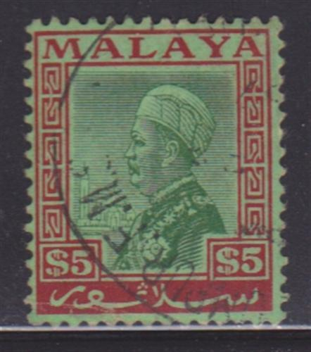 Selangor 59 VF-used light cancel nice color cv $ 50 ! see pic !