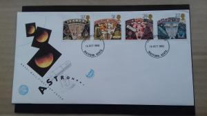 Great Britain 1990 Astronomy FDC