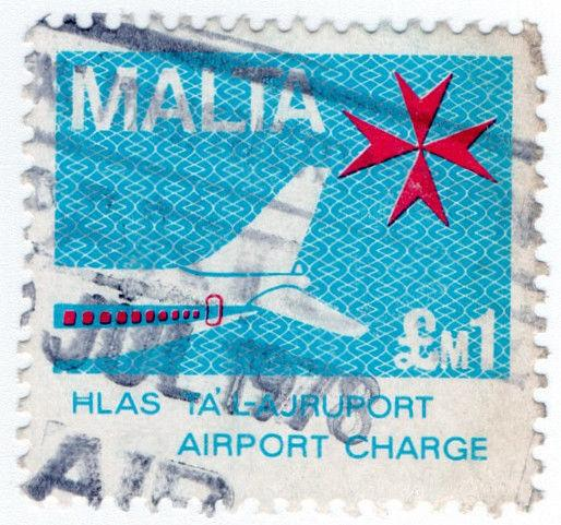 (I.B) Malta Revenue : Airport Charge £1