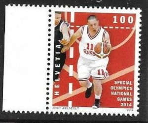 2014    SWITZERLAND  -  SG.  2020  -  SPECIAL NATIONAL OLYMPIC GAMES  -  MNH