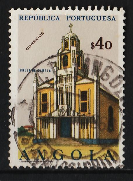 Angola 1963 Churches and Cathedrals $40 (1/18) USED